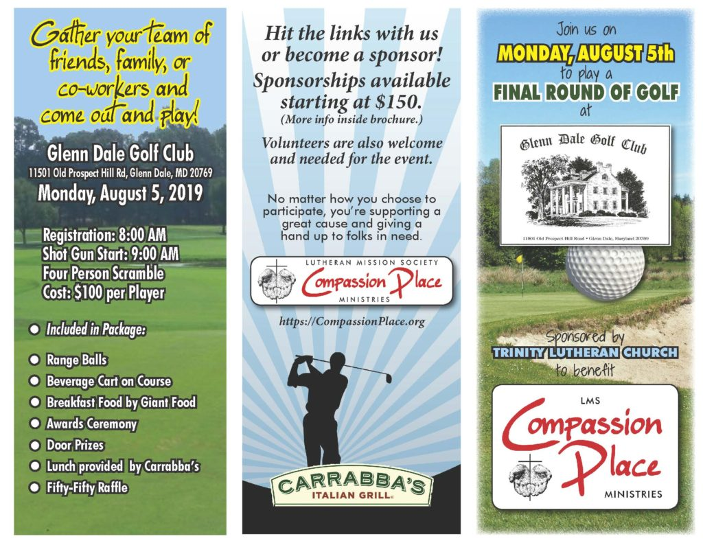 LMS Benefit Golf Tournament sponsored by Trinity Lutheran Church (Bowie) @ Glenn Dale Golf Club | Glenn Dale | Maryland | United States